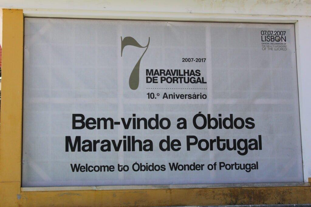 obidos 7 meraviglie Portogallo