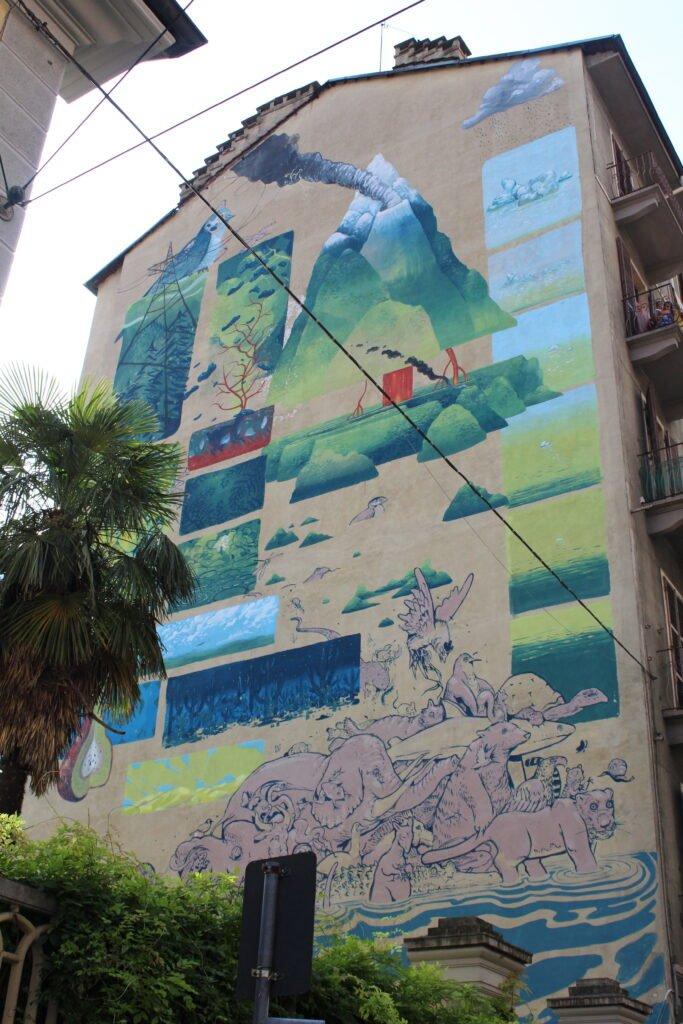 Street art a Torino tra i quartieri Aurora e Barriera Milano