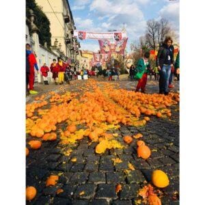 battaglia arance al carnevale storico di ivrea