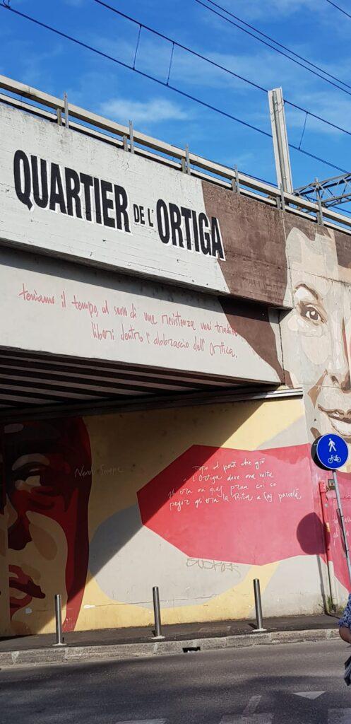 Itinerario tra i murales del Quartiere Ortica a Milano